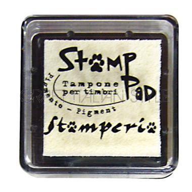 Μελάνι για σφραγίδες, 24x24 mm Stamperia, Ivory
