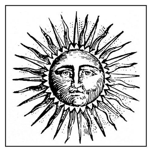 Σφραγίδα Sun 10x10cm, Stamperia