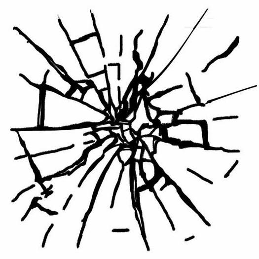 Σφραγίδα HD 10x10, Stamperia, Broken glass imitation