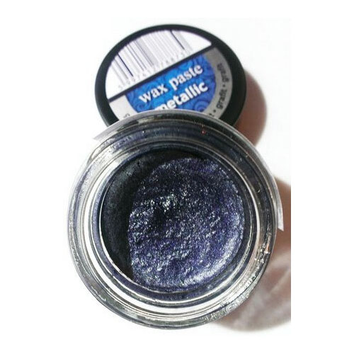 Πατίνα Wax paste Metallic 20ml Pentart - Graphite