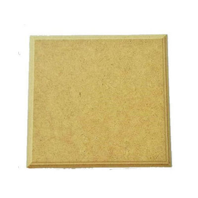 MDF επιφάνεια τετράγωνη 12.3x12.3cm