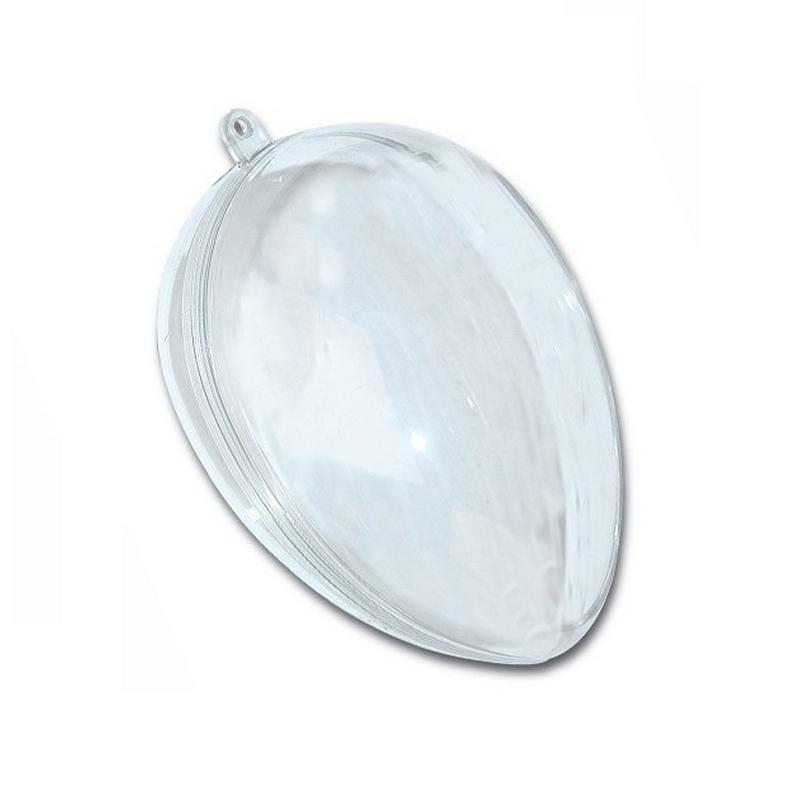 Αυγό διαφανές Plexiglass Υ10cm