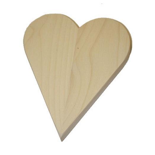 Καρδιά μασίφ 18mm πάχος, μεγάλη