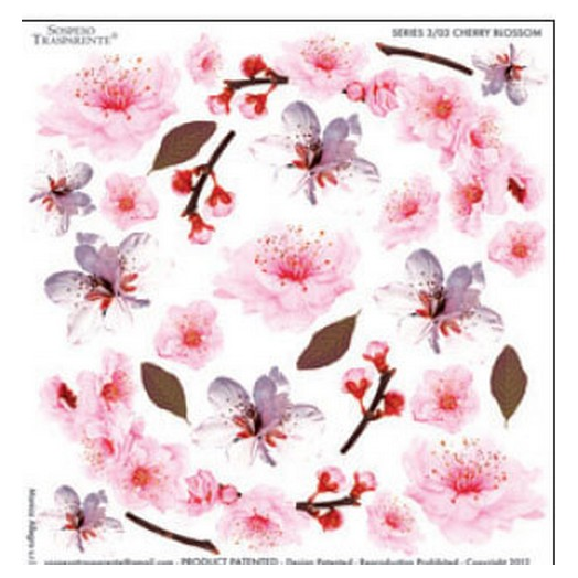 Τυπωμένο φύλλο-Ζελατίνη για Sospeso STS3.03, Cherry Blossom