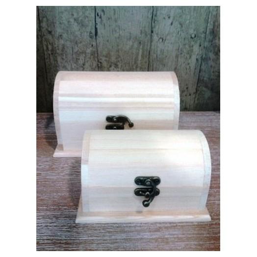 Κουτιά ξύλινα σέτ,2 τεμ