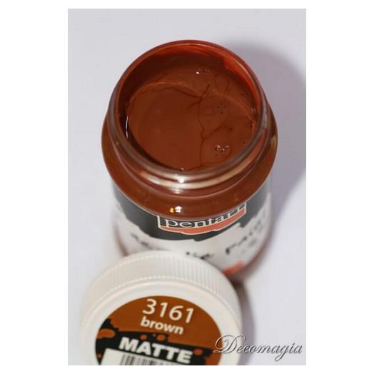 Χρώμα ακρυλικό Pentart 100ml, Light brown