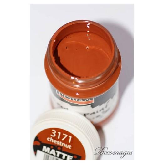 Χρώμα ακρυλικό 100ml Pentart, Chestnut