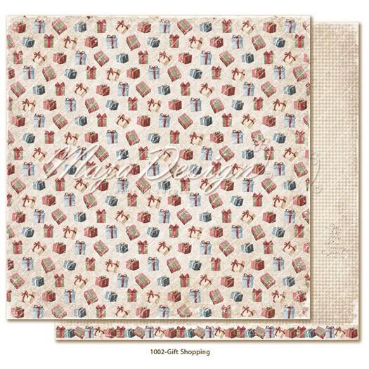 Χαρτί Scrapbooking Maja Collection διπλής όψης, Christmas Season, Gift Shopping