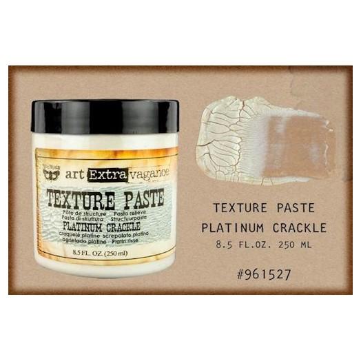 Finnabair Art Extravagance Texture Paste - Platinum Crackle, 250ml