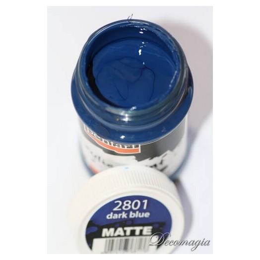 Χρώμα ακρυλικό 100ml Pentart, Dark blue