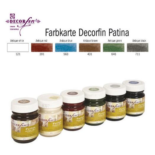 Πατίνα Antique Decorfin 50ml - Antique white