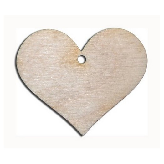 Διακοσμητική καρδιά 70mm