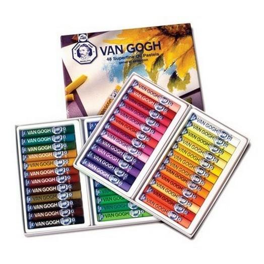 Παστέλ Λαδιού, Van gogh oil pastel σετ 24 τεμ