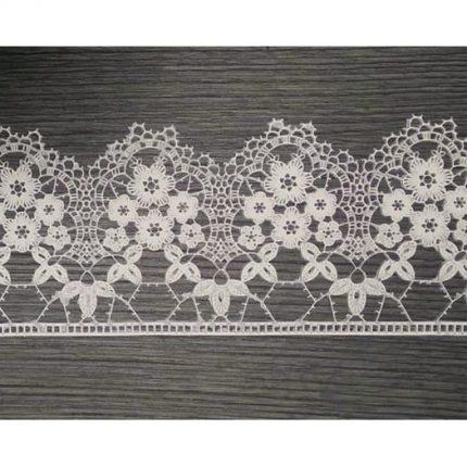 Ελαστικό στοιχείο, Flower Lace, N529, 37x9cm