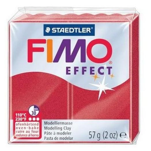 Fimo Effect 56gr Metallic Red