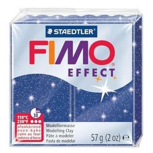 Fimo Effect 56gr Glitter Blue