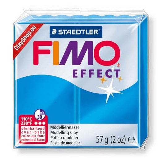 Fimo Effect 56gr Transparent Blue