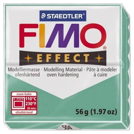 Fimo Effect 56gr Transparent Green