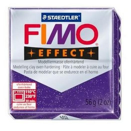 Fimo Effect 56gr Glitter Purple-Lilac