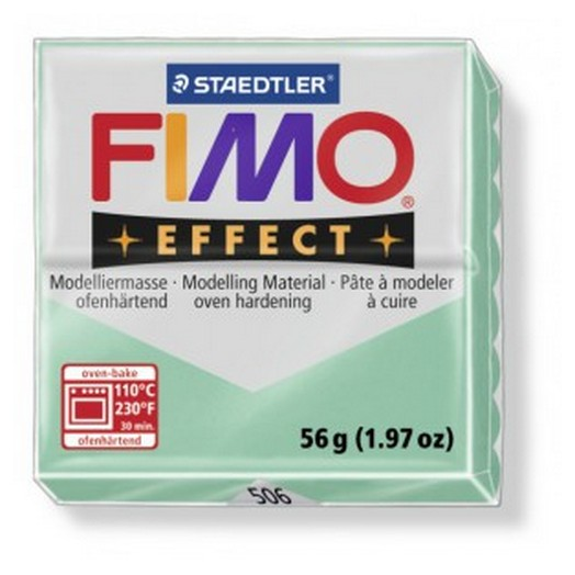 Fimo Effect Pastel Jade green 56gr