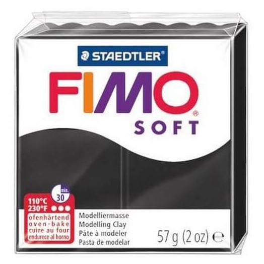 Fimo Soft 56 gr Black