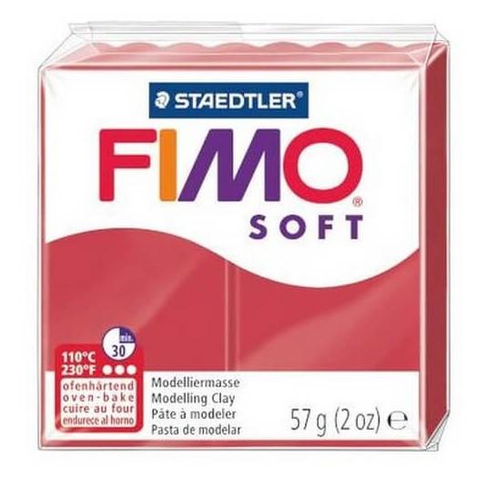 Fimo Soft 56 gr Cherry Red
