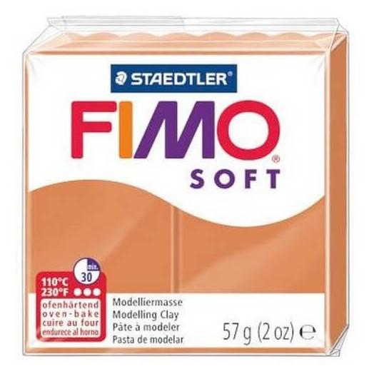Fimo Soft 56 gr Cognac