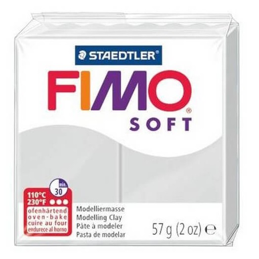 Fimo Soft 56 gr Dolphin Grey