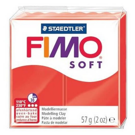 Fimo Soft 56 gr Indian Red