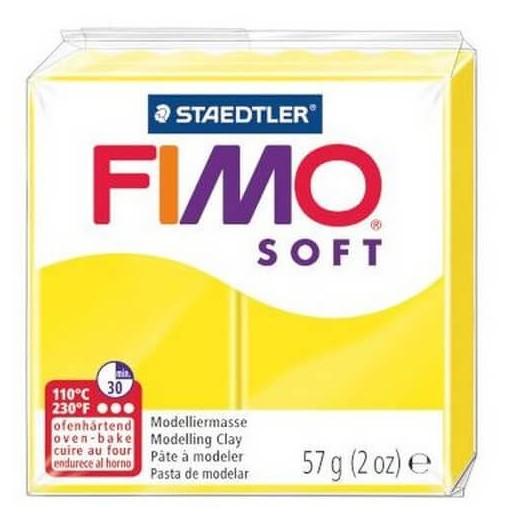Fimo Soft 56 gr Lemon