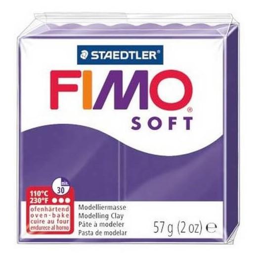 Fimo Soft 56 gr Plum