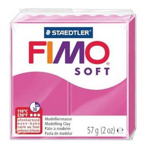 Fimo Soft 56 gr Rasberry