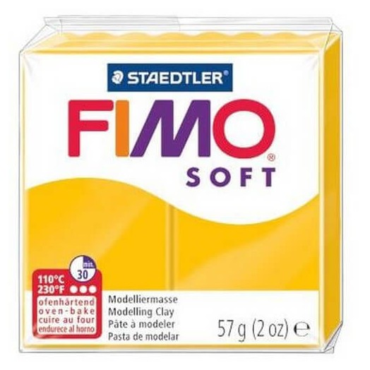 Fimo Soft 56 gr Sunflower