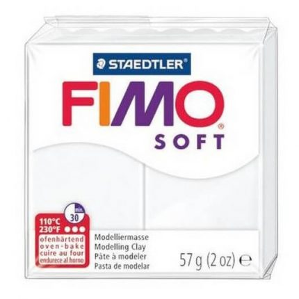 Fimo Soft 56 gr White