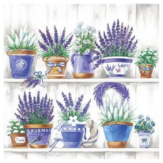 Χαρτοπετσέτα για Decoupage Lavender Range, 1 τεμ