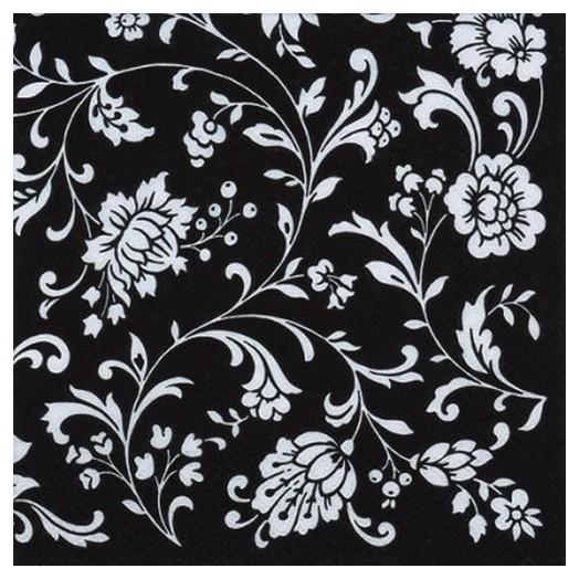 Χαρτοπετσέτα για Decoupage Arabesque Black black-white, 1τεμ.