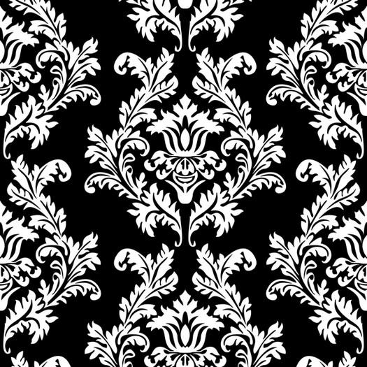 Χαρτοπετσέτα για Decoupage, Baroque Black and White, 1τεμ