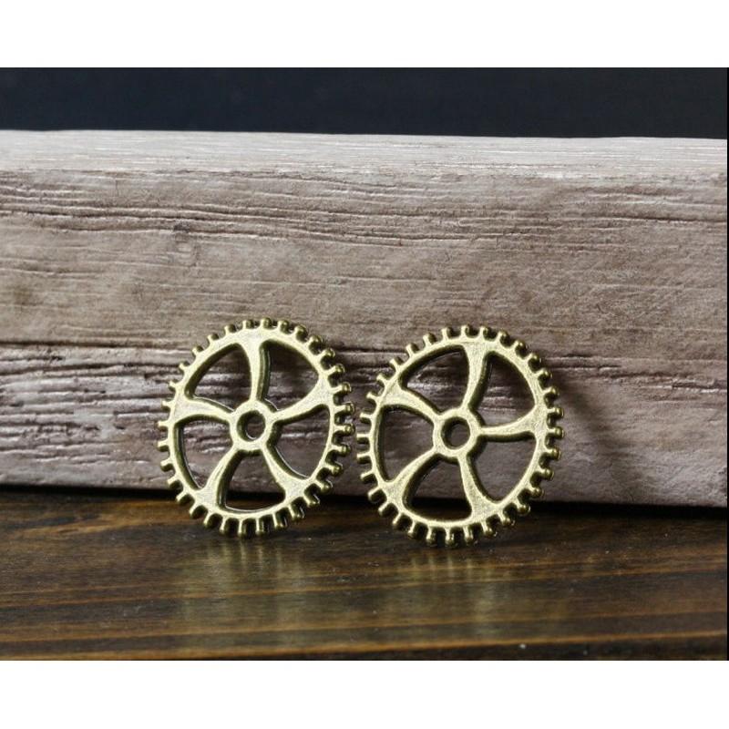 Antique Steampunk Gear 23mm - σετ 4 τεμ