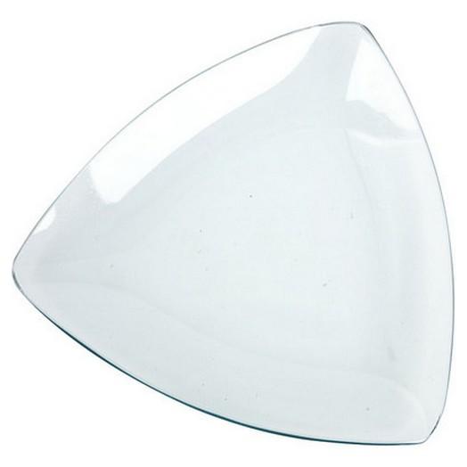 Γυάλινο Μπόλ τρίγωνο ,19 cm