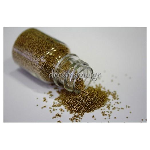 Xάντρες χρυσές Fine 0,6-0,7mm , 40ml