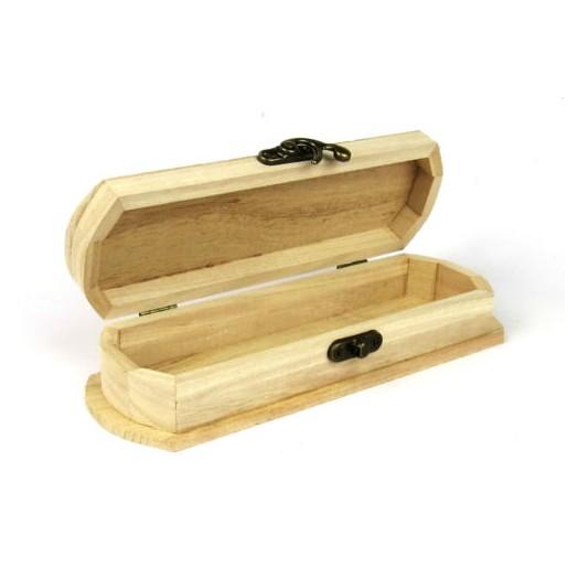 Θήκη ξύλινη 19 x 5 x 8 cm