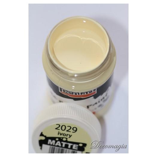 Χρώμα ακρυλικό Pentart 100ml, Ivory