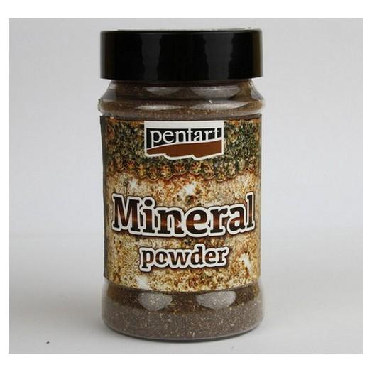 Mineral Powder 130gr Pentart - Copper Granite