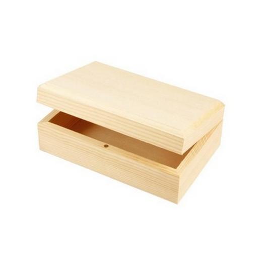 Κουτάκι για χρυσαφικά ξύλινο 14x9x5 cm