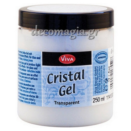 Krystal Gel VIVA DECOR Transparent(Διάφανο) 250ml