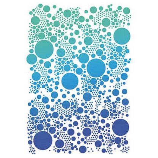 Stencil 21x29,7cm Dots, Stamperia