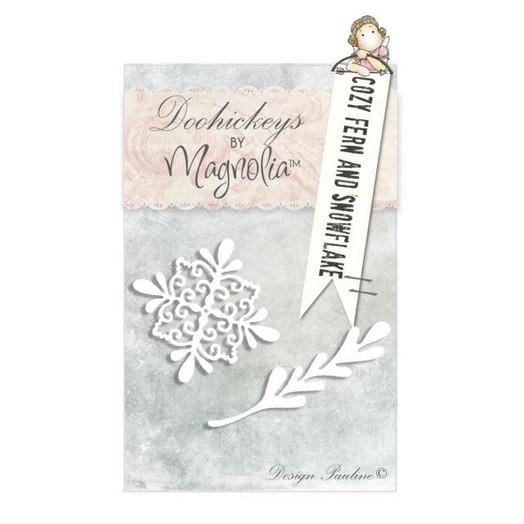 Μήτρα Magnolia ,Cozy fern and Snowflake