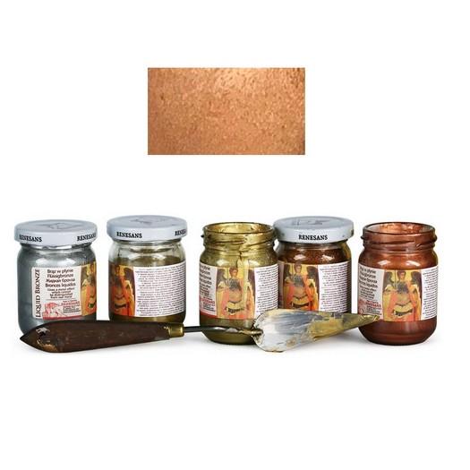 Φύλλο χρυσού Yγρό Renesans Liquid metal 100ml - Copper