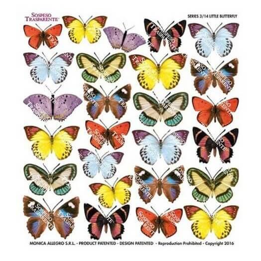 Τυπωμένo φύλλο-Ζελατίνη για Sospeso STS3.14, Little butterfly