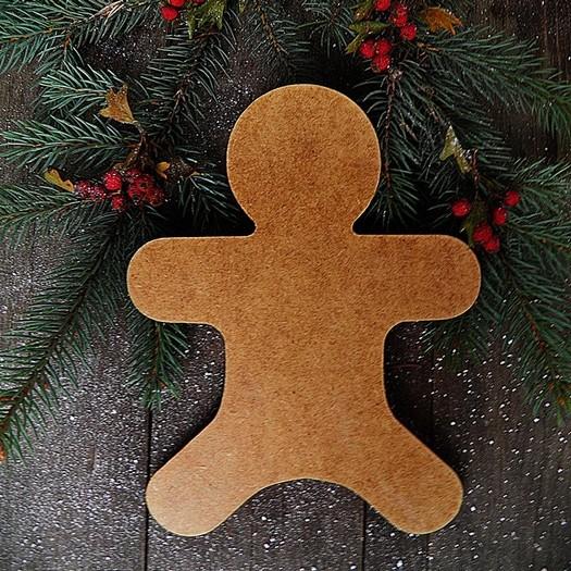 Ανθρωπάκι gingerbread MDF, 10cm
